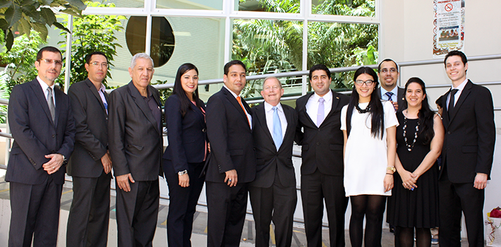 ASP President Lee Crumbaugh was the keynote speaker at the association's international conference in Honduras.