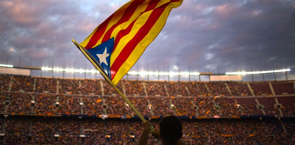 """""""Since 2012, a peaceful and civilized debate on independence has developed in Catalonia,"""" says Jordi Solé i Ferrando. (@dw_sports)"""