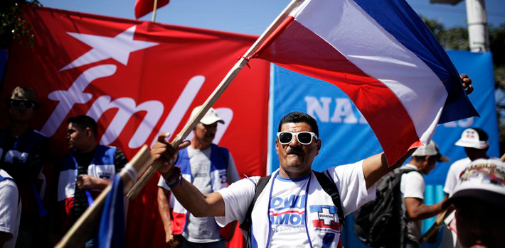 The polls have closed in El Salvador, but the National Election Authority has cited technical difficulties with releasing the results.
