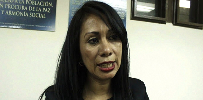 "Prosecutor Gilda Aguilar sought to make known the coercion behind the militia activity in rural Guatemala. Attorney General Claudia Paz y Paz, instead of supporting Aguilar, dismissed her. (<a href=""http://www.lavoz.gt/"" target=""_blank"">Liga ProPatria</a>)"