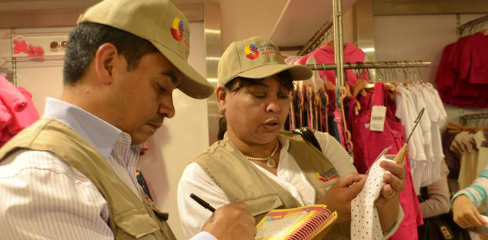 President of Venezuela, Nicolás Maduro, orders inspection teams to make sure store owners sell items at government-mandated prices.