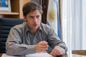Argentina''s Economy Minister Axel Kicillof has accused US Judge Thomas Griesa of forcing the country to default on its debt.
